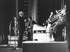 Ted Heath and His Music, Nat King Cole concert, Shepherd's Bush, London, 1963.