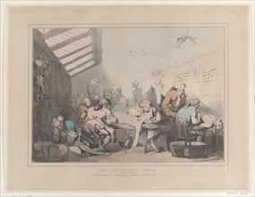 The Dissecting Room, ca. 1838.