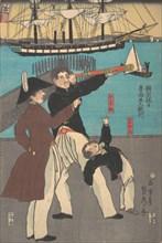 Russians Enjoying a Holiday in Yokohama, 1861.