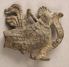 Badge with Cockney, British, 15th century.