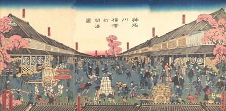 ?The Newly Opened Port of Yokohama in Kanagawa Prefecture? , 2nd month, 1860.