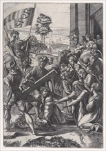 The Bearing of the Cross, 1517.