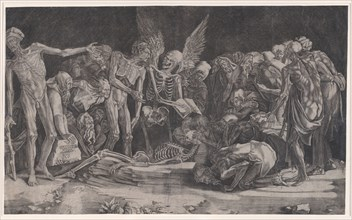 Skeletons, dated 1518.