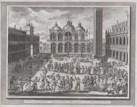 The Carnival of Venice, from: Thesaurus Antiquitatum et Historiarum Italiae, vol. IX, 1722.
