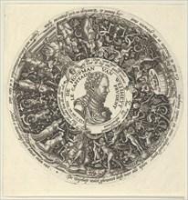Portrait of William I of Orange, from a Series of Tazza Designs, ca. 1588.