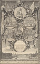 The Reception of Louis XIV at the Hôtel de Ville on the Occasion of his Recovery, January 30, 1687, 1687.