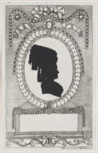 Silhouette of Trapp, Stiftsfräulein, 1784-1834.
