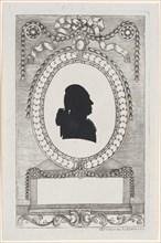 Silhouette of Graf Lodroni, 1784-1834.