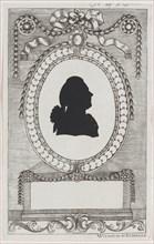 Silhouette of Graf Leopold Kinigl, 1784-1834.