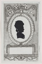Silhouette of Gräfin Coreth, 1784-1834.