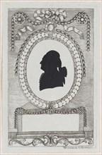 Silhouette of Graf Coreth, 1784-1834.