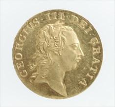Proof guinea of George III, 1761.