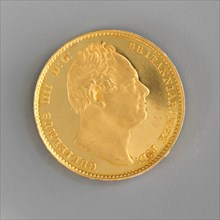 Proof sovereign of William IV, 1831.