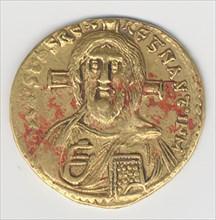 Solidus of Justinian II (685-95), Byzantine, 692-695.