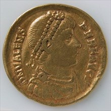 Solidus, Byzantine, ca. 364-378.