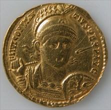 Solidus of Constantius II (Sole Emperor, 353-361), Byzantine, 353-361.