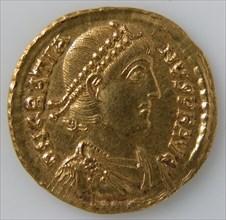 Solidus of Gratian (r. 375-383), Byzantine, 375-83.