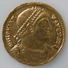Solidus of Jovian (r. 363-364), Byzantine, 363-364.
