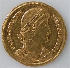 Solidus of Constantius II (337-361), Byzantine, 337-47.