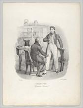 Chap. VIII: Comment Docteur! (What, Doctor?), 1824.