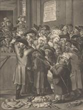 The Pit Door/ La Porte du Parterre, November 9, 1784.