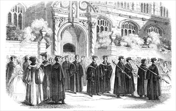 The Procession from St. Mary's