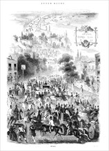 The Road, Epsom Races