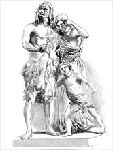 Caractacus before Claudius Caesar