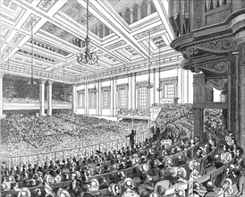 May Meetings in the Metropolis - interior of Exeter Hall