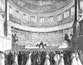 The Convocation in the Theatre