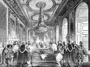 Chapter of the Order of the Garter: Investiture of the King of the French