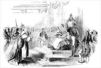 Presentation of the Address in the Reception Room