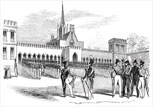 Parade of Cadets in the Stone Court