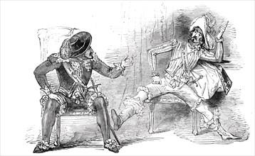 """Scene from """"Don Caesar de Bazan"""""""
