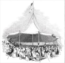 Interior of the Great Marquee