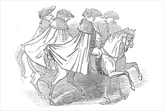 Sketch from the Procession
