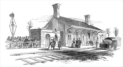 Opening of the Leamington and Warwick Railway - Kenilworth Station