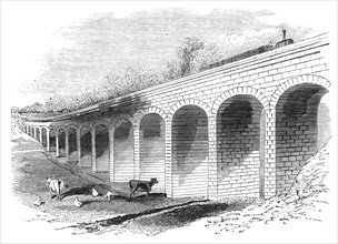 Opening of the Leamington and Warwick Railway - Melbourne Grange Viaduct
