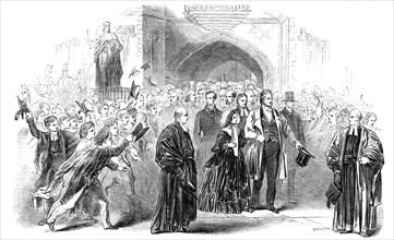 Visit of the King of the French and Queen Victoria to Eton College