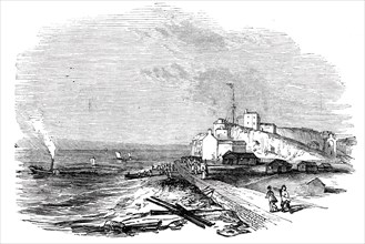 """Wreck of """"The Waterman"""" steamer"""
