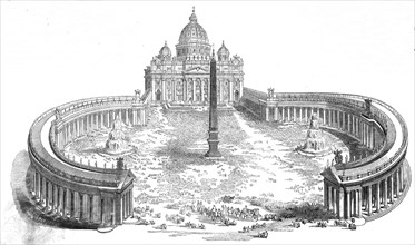Easter Sunday - the Pope blessing the people from the portico of St Peter's