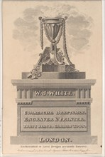 Trade Card for W. J. White