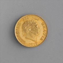 Proof half sovereign of George III
