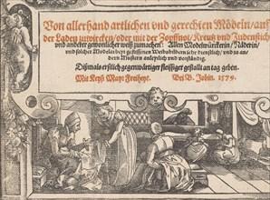 Titlepage of Neu künstlich Modelbuch (page 1r)