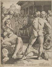 The Fight Between Ulysses & Irus