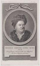 Portrait of Friedrich Ludwig Hermann Muzel