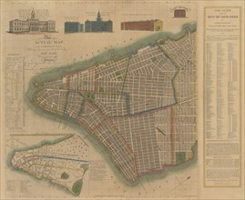 The City of New York: Longworth's Explanatory Map and Plan