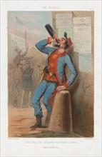 États-Unis 1865 - New-York Fire-Brigade Zouaves