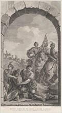 The Chapel of the Enfants-Trouvés in Paris: La Suite des rois mages: cavaliers