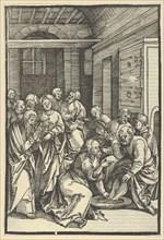 Christ Washing Saint Peter's Feet